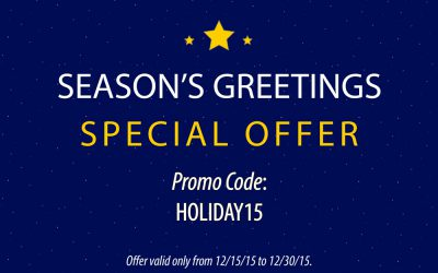 Season's Greetings with a Special Offer from the HILL!